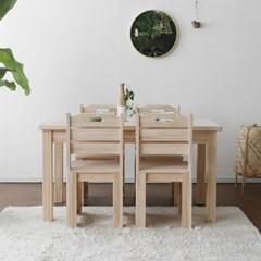 [편백] A1형 식탁/테이블 서랍형 세트 1200_(1608471)