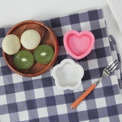 핑크하트 꽃 주먹밥틀 세트