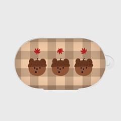 pattern acorn gummy 갤럭시 버즈케이스