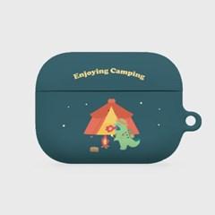 camping 랩터공룡 에어팟프로 하드케이스