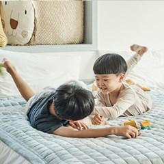 [한샘] 패밀리침대 포그니 극세사 누빔패드 SS+Q_(1065073)