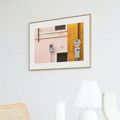 Rome pink - Jitten 인테리어 포스터