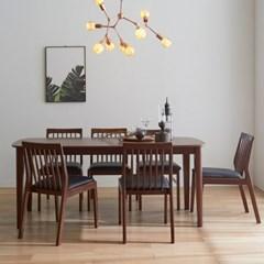 핀치 원목 1800 식탁테이블 6인용 2colors