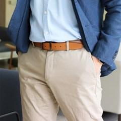 가죽벨트 남성 허리 버클 양면 사용