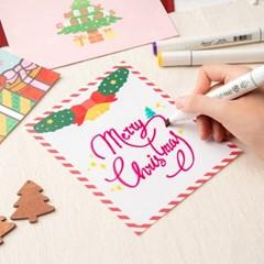 포일아트 크리스마스 카드 만들기