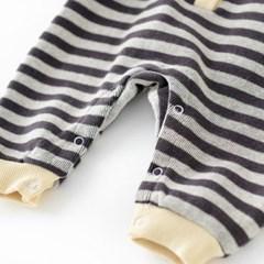 돌핀웨일 스마일라인기모우주복(0~24개월)