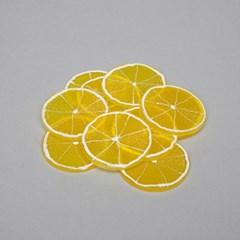 납작 레몬 모형(6개)