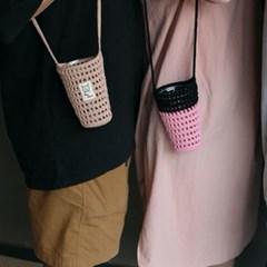 텀블러 가방/텀블러 네트백/뜨개 가방