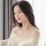 제이로렌 G0214 14K 더블클립 핑크골드 목걸이_(1176341)