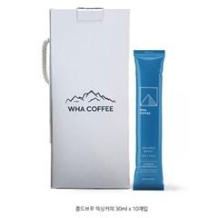화커피 콜드브루 스틱 WHA COFFEE cold brew (30ml, 10개입)