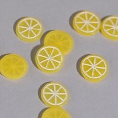 미니 슬라이스 레몬(1.5cm_10개)