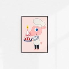 굴리굴리 포스터 / CAKE DAISY (039)