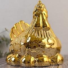 황금 골드 알 닭 (소 대)