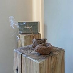 [화산석/미니화분] 인센스 Incense 홀더