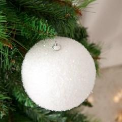 화이트펀볼 120Ø(mm)[2개입] 크리스마스 장식 TRBALC