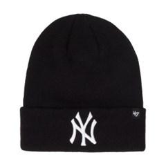 47브랜드 NY 양키스 롱 비니 블랙 / BKA