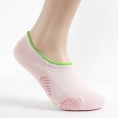 인파라 여성 스니커즈 양말(핑크)