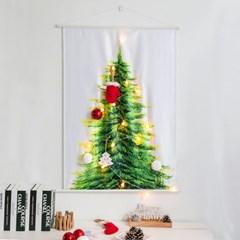 레토 크리스마스 패브릭 벽트리 LED앵두전구 세트 LML-CF01