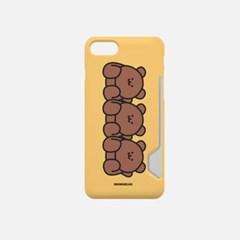 빈둥빈둥 모모베어 디자인 카드수납케이스 핸드폰케이스