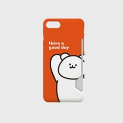 굿데이 모모베어 디자인 카드수납케이스 핸드폰케이스