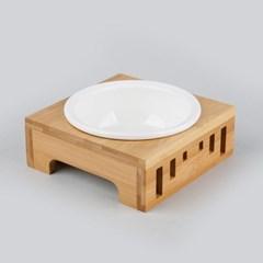 펫홀릭 대나무 식탁 & 식기 세트 [1구/2구]