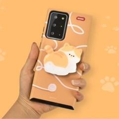 나인어클락 하드 고양이 냥이 카드수납 카드슬롯 케이스+냥이톡 세트