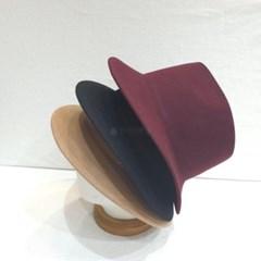 무드 데일리 기본 패션 무지 챙넓은 깊은 페도라 모자