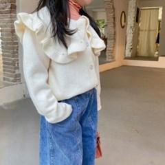 돌핀웨일 러플카라가디건(75~135cm)