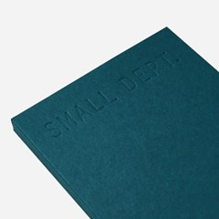 Small dept : planner - Blue green