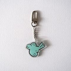 smalllittlepiece Key holder 02 Blue bird