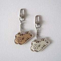 smalllittlepiece Key holder 01 Cat