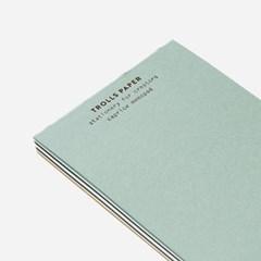 Caprice memopad-Turquoise