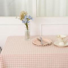 멜란체크 면식탁보 테이블보-5컬러