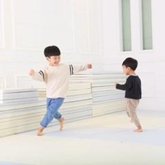 리빙코디 제로갭 폴더매트 2단 6종 모음 / 층간소음완화매트