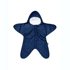 베이비바이츠 유아 아기 신생아 겉싸개 방한우주복 STAR NAVY