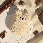레이지띵 초코쿠키 뜨개 에어팟/프로 케이스