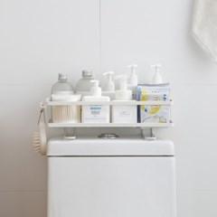 미니멀라이프 욕실선반 심플변기선반 화장실정리 일자선반