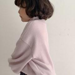 고) 버니터틀넥 아동 니트 티셔츠-주니어까지