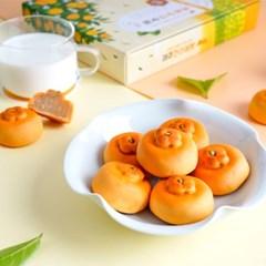 [무료배송] [오븐] 제주의 맛과 향에 퐁당~ 한라봉빵 12개입