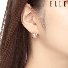 14K 심플 하프 링 귀걸이 (gold pin) ELGPEE309_(1049461)