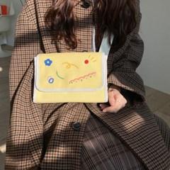 Mini drawing bag - Cream Yellow