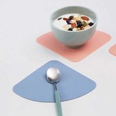 델피노 실리콘 컵받침 코스터 2개세트 (9colors)_(2060143)