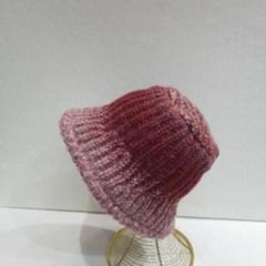 와이어 보카시 패션 데일리 니트 버킷햇 벙거지 모자