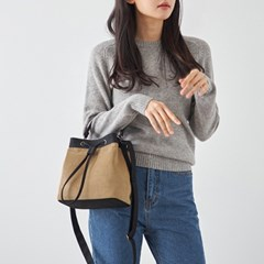 CORDUROY BUCKET BAG