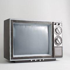 옛날 티비 모형