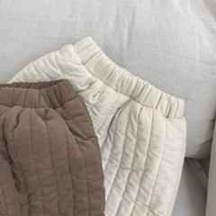 돌핀웨일 패딩라인기모팬츠(70~130cm)