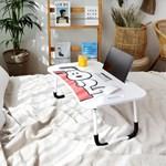 피너츠 스누피 노트북 테이블