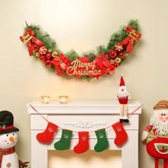 140cm 플로리 크리스마스 가렌드/성탄절 장식품 트리