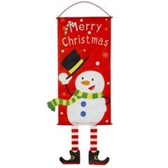 크리스마스장식 벽걸이 눈사람/크리스마스 가랜드
