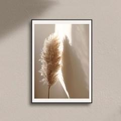 모던아트 갈대 그림 가을 풍경 감성 인테리어 액자 포스터